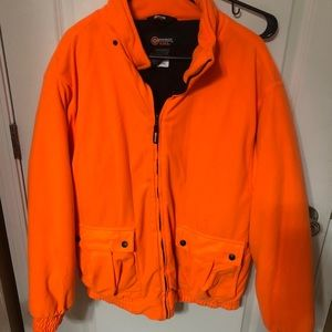 Outfitters Ridge Orange Hunting Jacket Size L